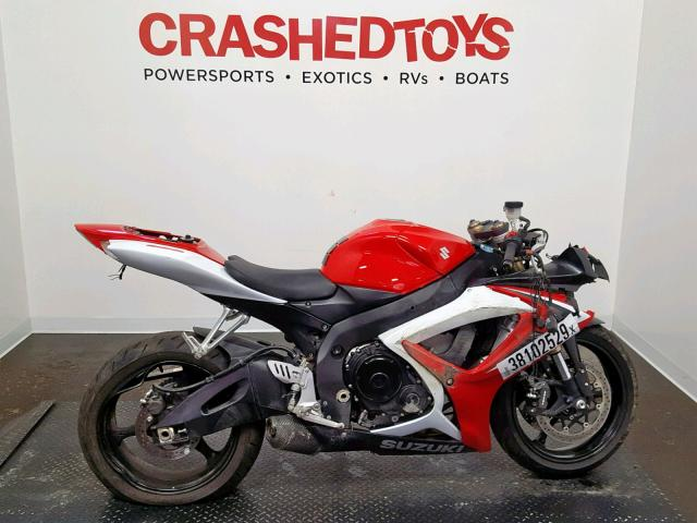 click here to view 2007 SUZUKI GSX-R600 at IBIDSAFELY