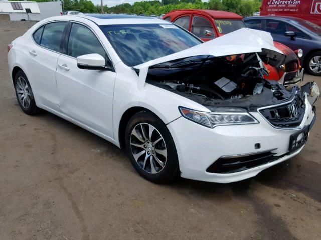 Salvage 2016 Acura TLX for sale