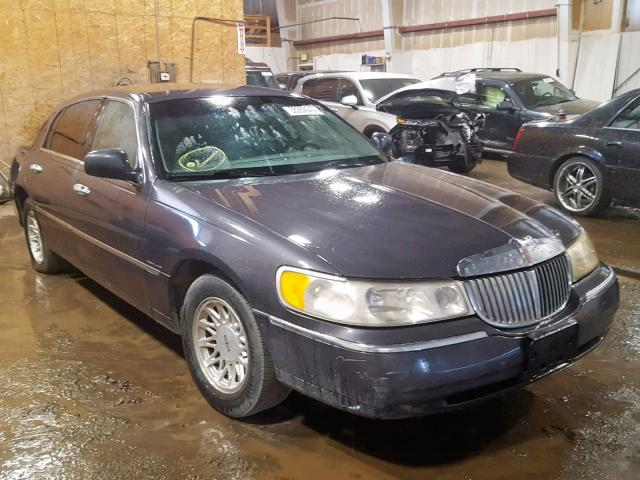 1999 Lincoln Town Car Signature For