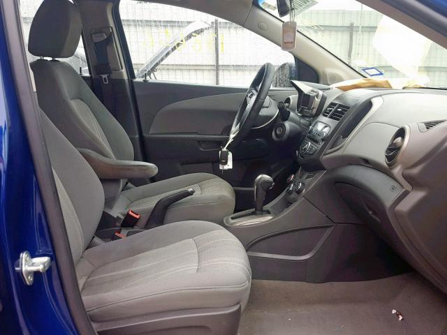 2014 Chevrolet Sonic Lt 1 4l 4 For Sale In New Braunfels Tx Lot 38101049
