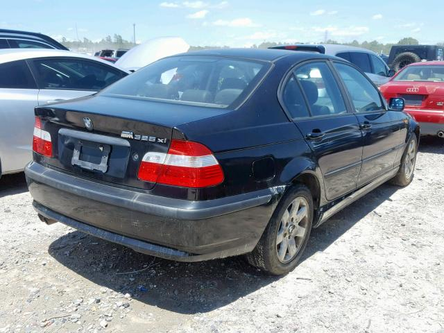 2004 BMW 325 XI - Right Rear View