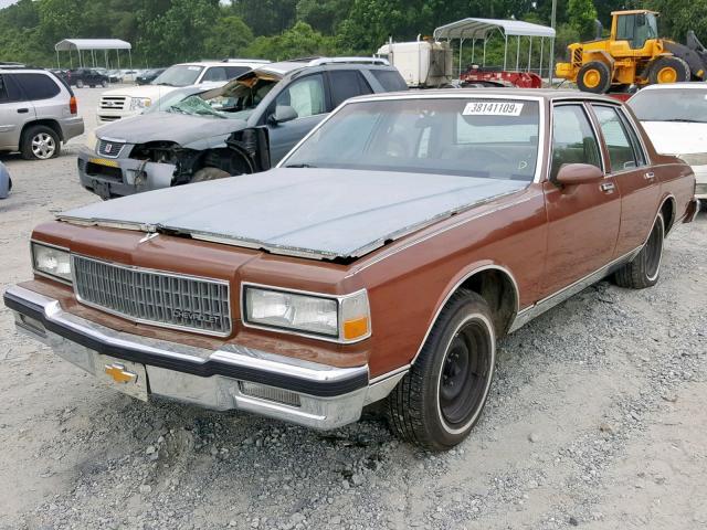 1989 Chevrolet Caprice Cl 5 0L 8 for Sale in Tifton GA - Lot: 38141109