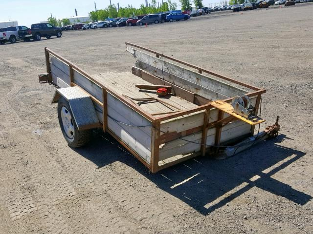 Trail King Trailer salvage cars for sale: 2001 Trail King Trailer