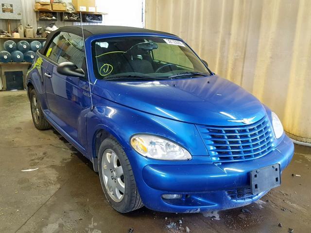 Salvage 2005 Chrysler PT CRUISER for sale