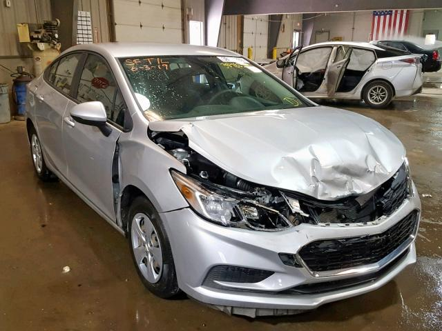 2017 CHEVROLET CRUZE LS Photos | PA - PITTSBURGH SOUTH - Salvage Car