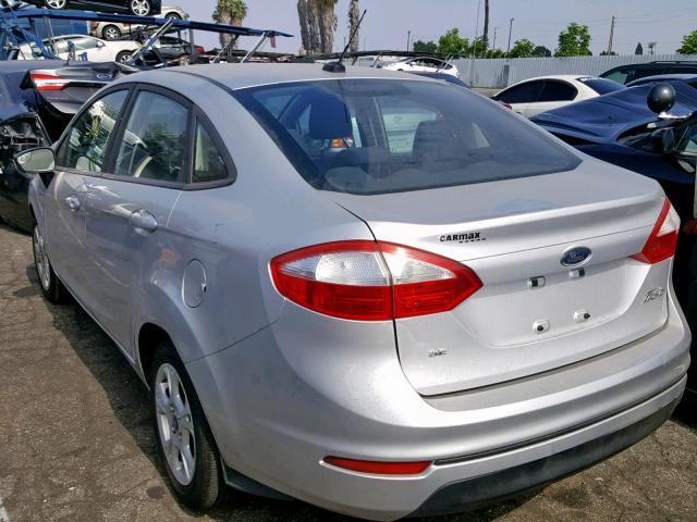 2016 Ford Fiesta Se Photos Ca Van Nuys Salvage Car Auction On