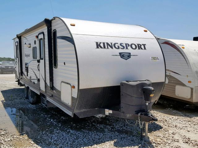Salvage 2017 Kingdom TRAILER for sale