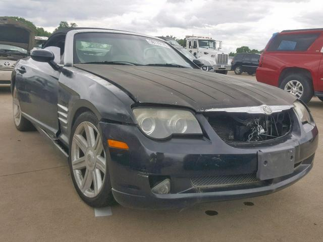 Salvage 2005 Chrysler CROSSFIRE for sale
