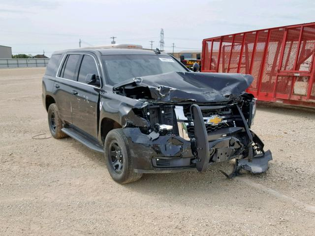 Salvage 2016 Chevrolet TAHOE POLI for sale