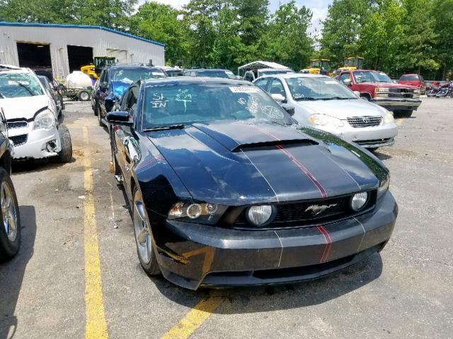 2012 FORD MUSTANG GT - Left Front View Lot 37986449.