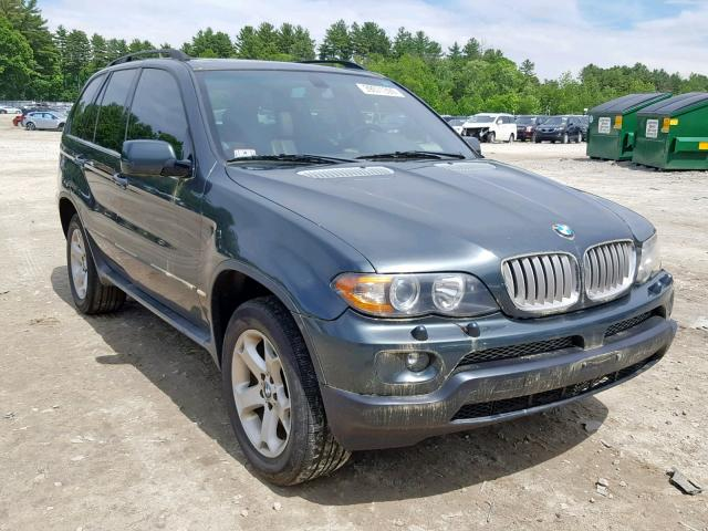 Auto Auction Ended On Vin 5uxfa13524lu40776 2004 Bmw X5 3 0i