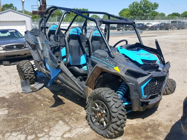 Salvage cars for sale from Copart Wichita, KS: 2019 Polaris RZR XP 4 T