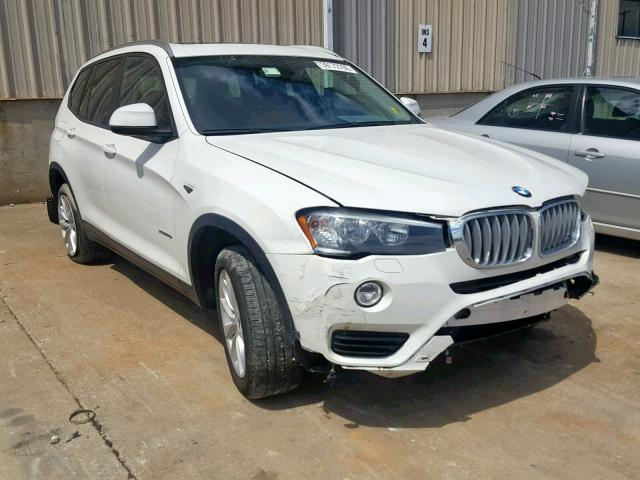 Salvage 2017 BMW X3 XDRIVE2 for sale