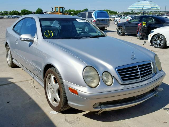 Mercedes-Benz CLK 430 salvage cars for sale: 2001 Mercedes-Benz CLK 430