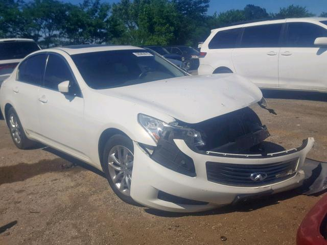 Salvage 2009 Infiniti G37 for sale