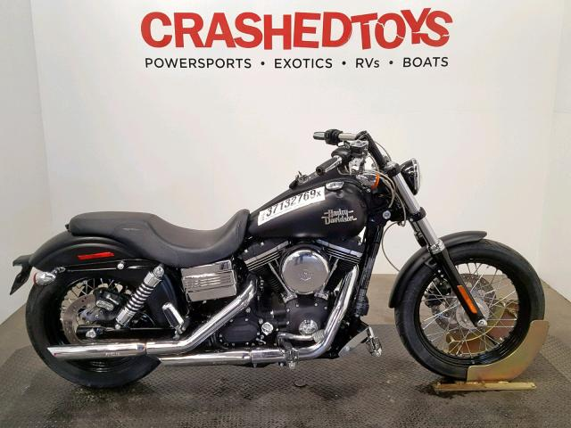 click here to view 2016 HARLEY-DAVIDSON FXDB DYNA at IBIDSAFELY