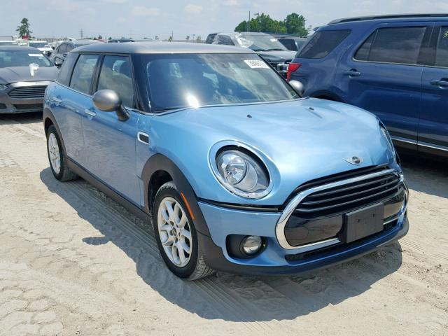 Salvage Vehicle Title 2017 Mini Cooper 15l 3 For Sale In Houston