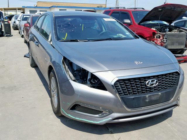 Salvage 2017 Hyundai SONATA HYBRID for sale