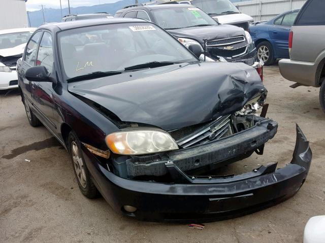 KIA Spectra BA salvage cars for sale: 2003 KIA Spectra BA