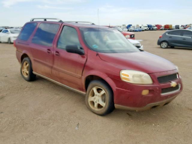 Salvage 2005 Chevrolet UPLANDER L for sale