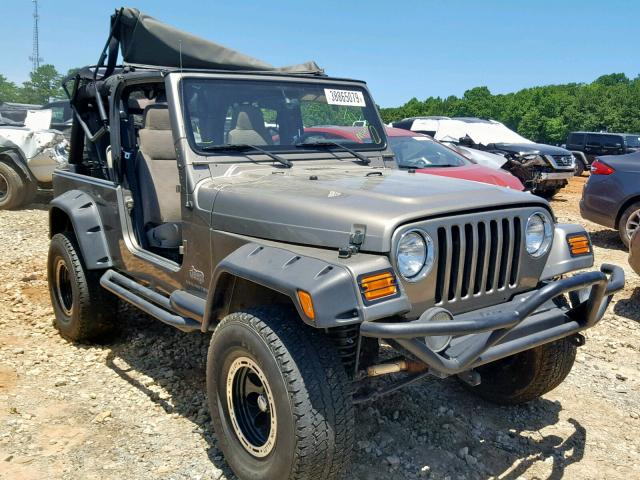 Salvage 2005 Jeep WRANGLER for sale