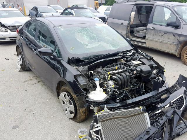 Salvage 2017 KIA FORTE LX for sale