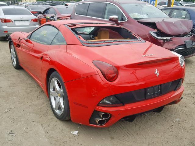 Damaged 2010 Ferrari All Models Converti 4 3l 8 For Sale In Los Angeles