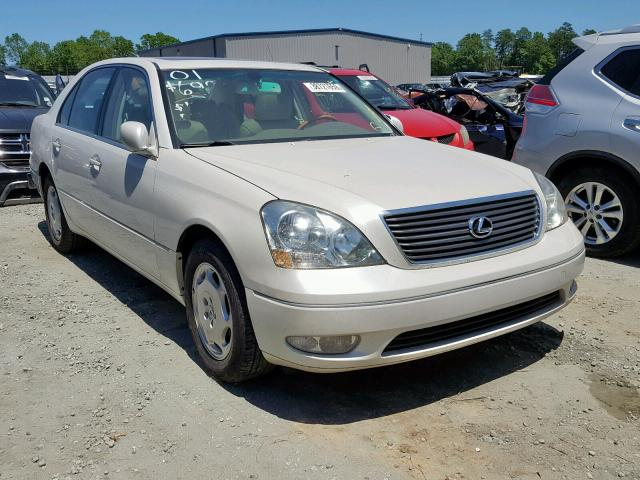 Salvage cars for sale from Copart Spartanburg, SC: 2001 Lexus LS 430