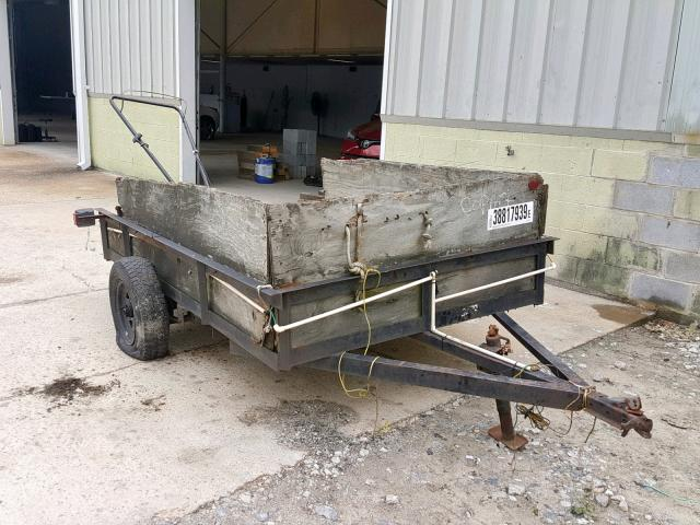 Utility Trailer salvage cars for sale: 1991 Utility Trailer