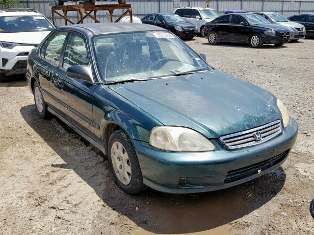 1999 Honda Civic Lx >> 1999 Honda Civic Lx 1 6l 4 For Sale In Mercedes Tx Lot 39010859
