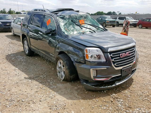 Salvage cars for sale from Copart Greenwood, NE: 2017 GMC Terrain SL