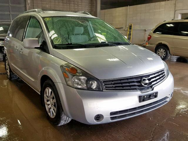 2007 Nissan Quest S 3 5L 6 for Sale in Blaine MN - Lot: 39619549