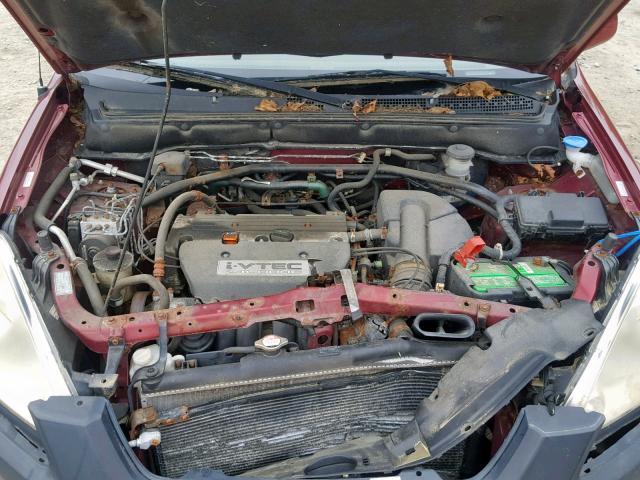 2003 Honda Cr-V Ex 2 4L 4 for Sale in Mendon MA - Lot: 39623449
