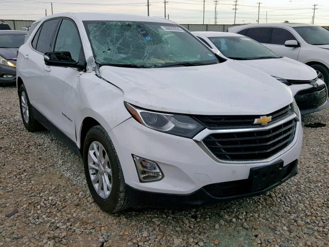 Salvage 2018 Chevrolet EQUINOX LT for sale