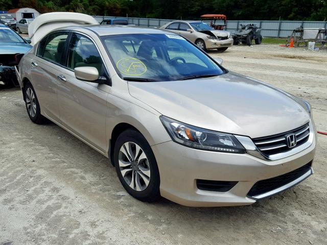 Salvage 2015 Honda ACCORD LX for sale