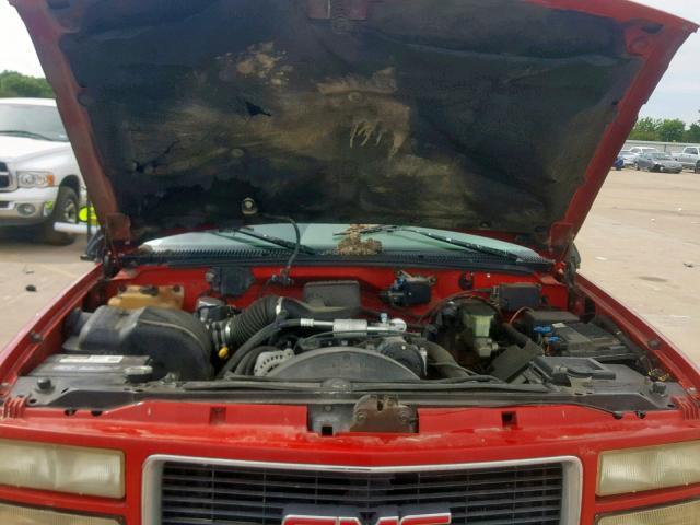 1996 Gmc Sierra Engine