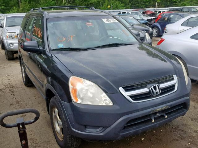 Salvage 2004 Honda CR-V LX for sale