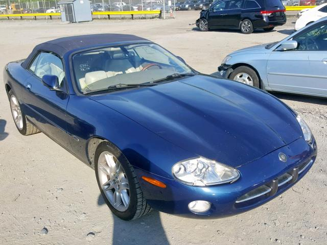 click here to view 2002 JAGUAR XK8 at IBIDSAFELY