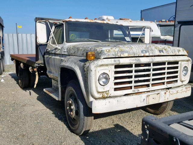 Salvage 1967 Ford FLATBED for sale
