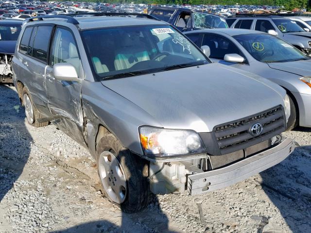Salvage 2006 Toyota HIGHLANDER for sale