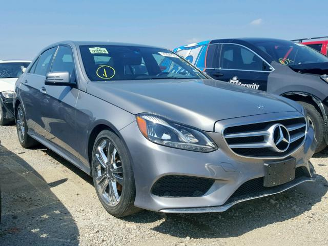 Salvage 2014 Mercedes-Benz E 350 for sale