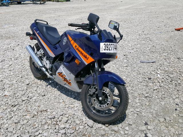 click here to view 2005 KAWASAKI EX250 F at IBIDSAFELY