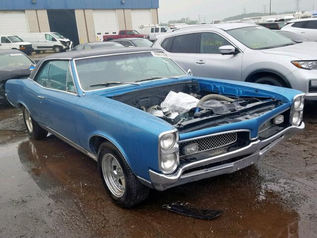 Pontiac GTO salvage cars for sale: 1967 Pontiac GTO