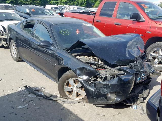 Salvage 2007 Pontiac GRAND PRIX for sale