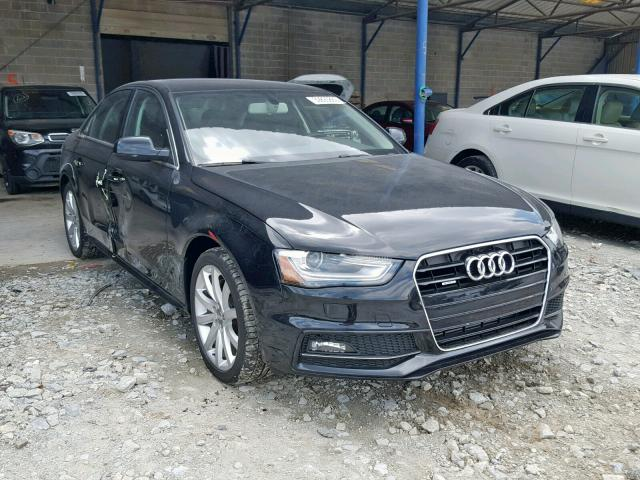 2014 Audi A4 Premium 2 0L 4 for Sale in Cartersville GA - Lot: 39893869