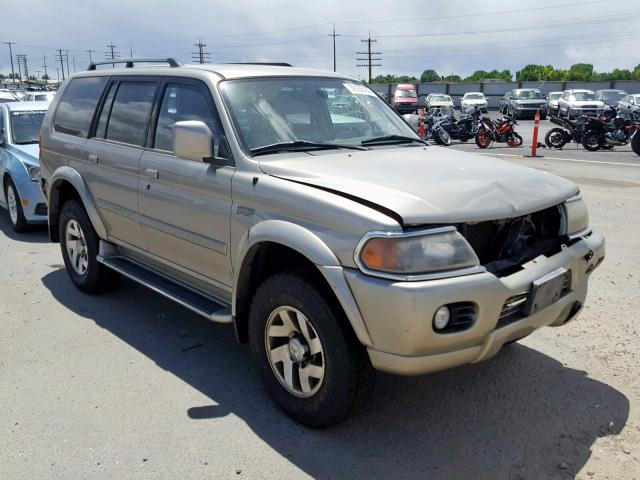 click here to view 2001 MITSUBISHI MONTERO SP at IBIDSAFELY