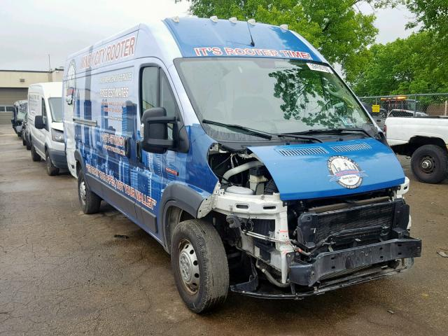 Salvage 2017 Dodge RAM PROMASTER for sale