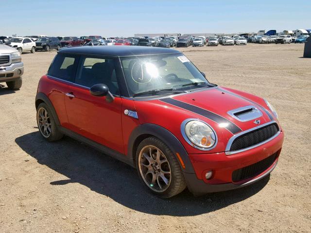 Salvage 2009 Mini COOPER S for sale