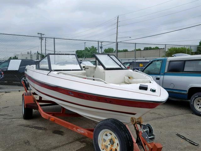 Salvage cars for sale from Copart Walton, KY: 1988 Capri Marine Trailer