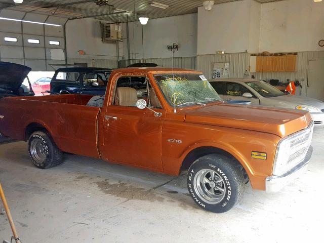 Chevrolet C10 salvage cars for sale: 1970 Chevrolet C10